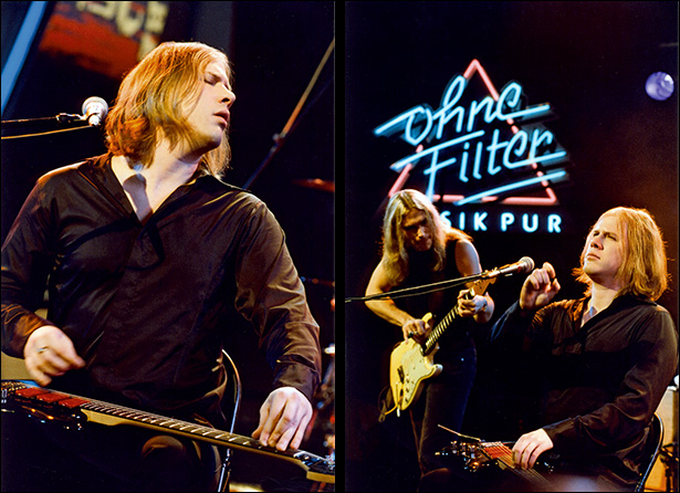 Jeff Healey and Philip Sayce