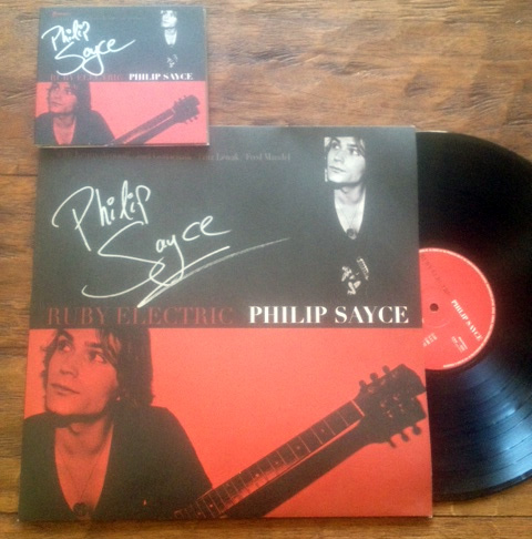 """Philip Sayce """"Ruby Electric"""" Signed Vinyl & CD"""