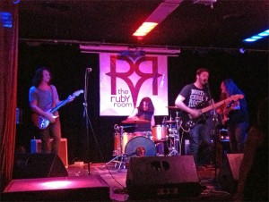 The Heavy Hearts performing live at the Ruby Room in San Diego, CA.