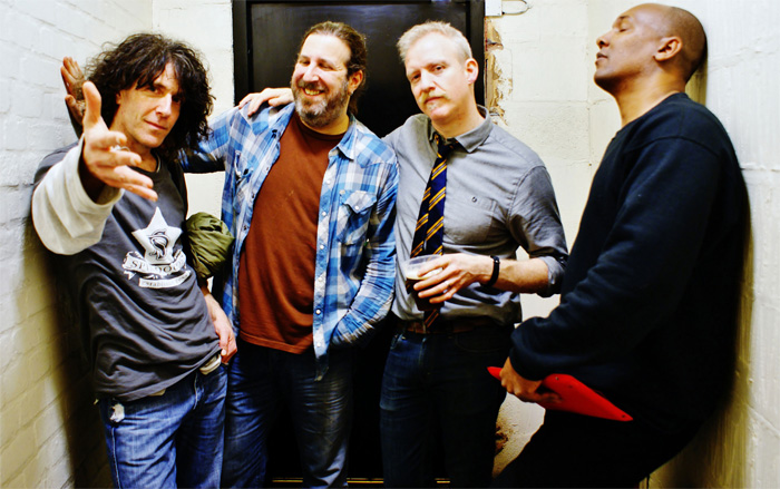 Spin Doctors (Pictured from left to right, Eric Schenkman, Aaron Comess, Chris Barron, Mark White)