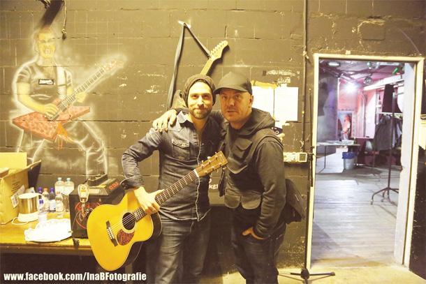 Dan Patlansky with manager Franie Kotze