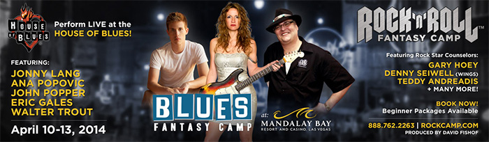 Blues Fantasy Camp