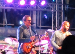Joe Bonamassa performing on the Blues Alive At Sea